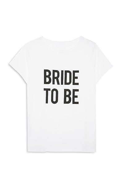 Primark Camiseta - Mujer Blanco Blanco 46