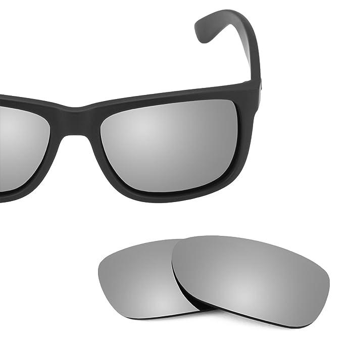 Revant Ersatzlinsen für Ray Ban Justin 54mm RB4165 Titanium MirrorShield® e7SmZDnXnW