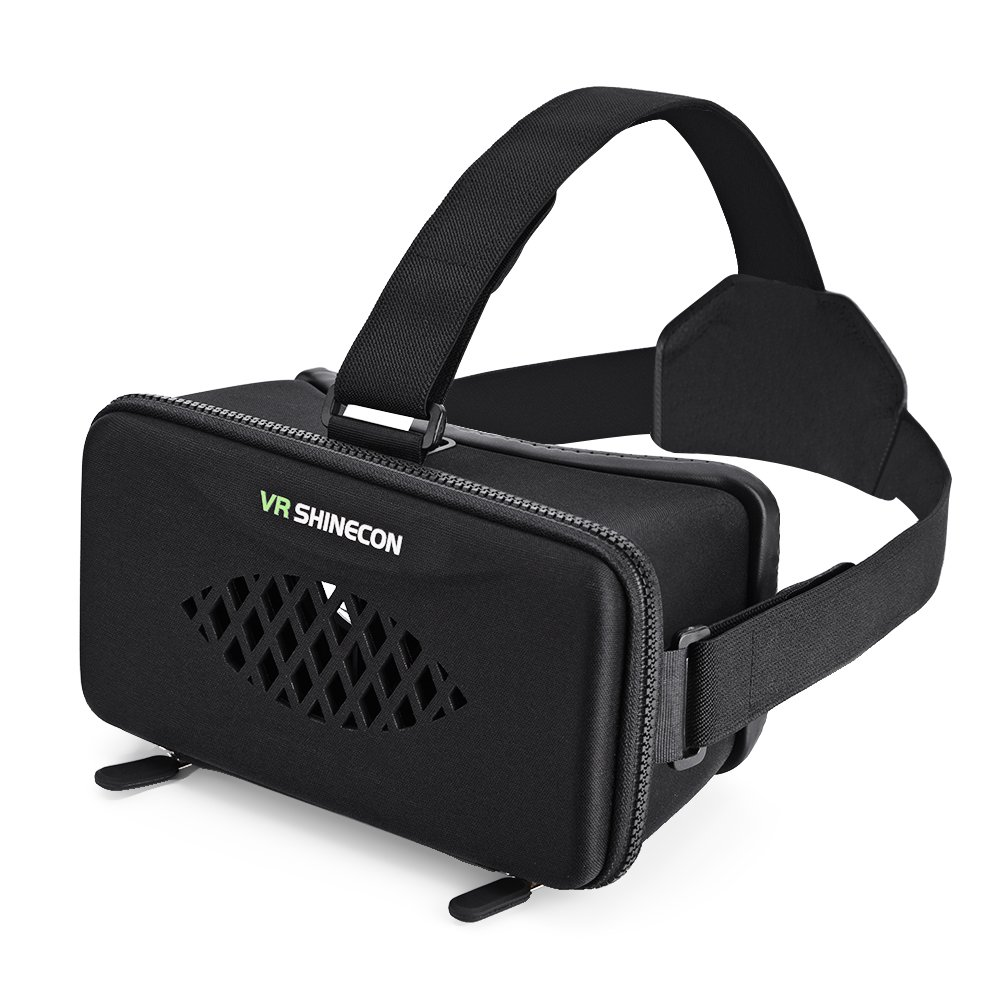 fosa VR Headset 3D Virtual Reality Glasses Goggle for 4''-6.0'' Android iOS Windows Smartphones