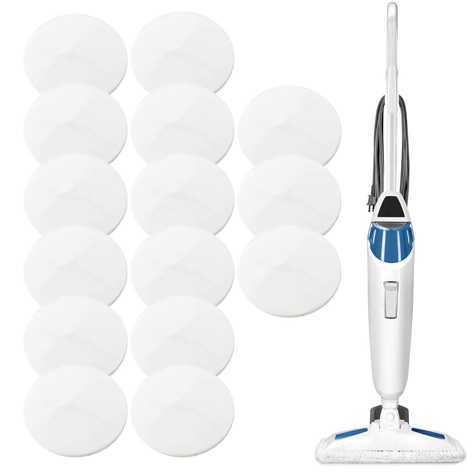 15 Pack Replacement Steam Mop Scent Discs for Bissell Powerfresh and Symphony Series, Including 1940, 1806 and 1132 Models - Spring Breeze Fresh Fragrance Scented Pads by Impresa by Impresa Products