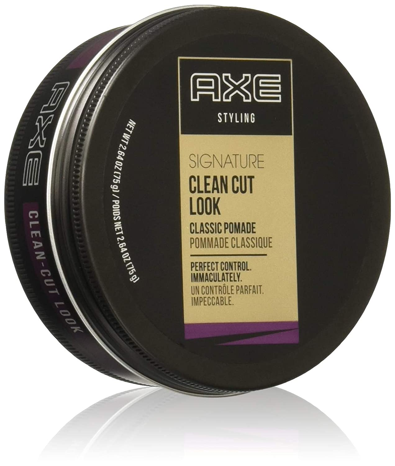 Amazon.com : AXE Signature Clean Cut Look Classic Pomade, 2.64 oz ...