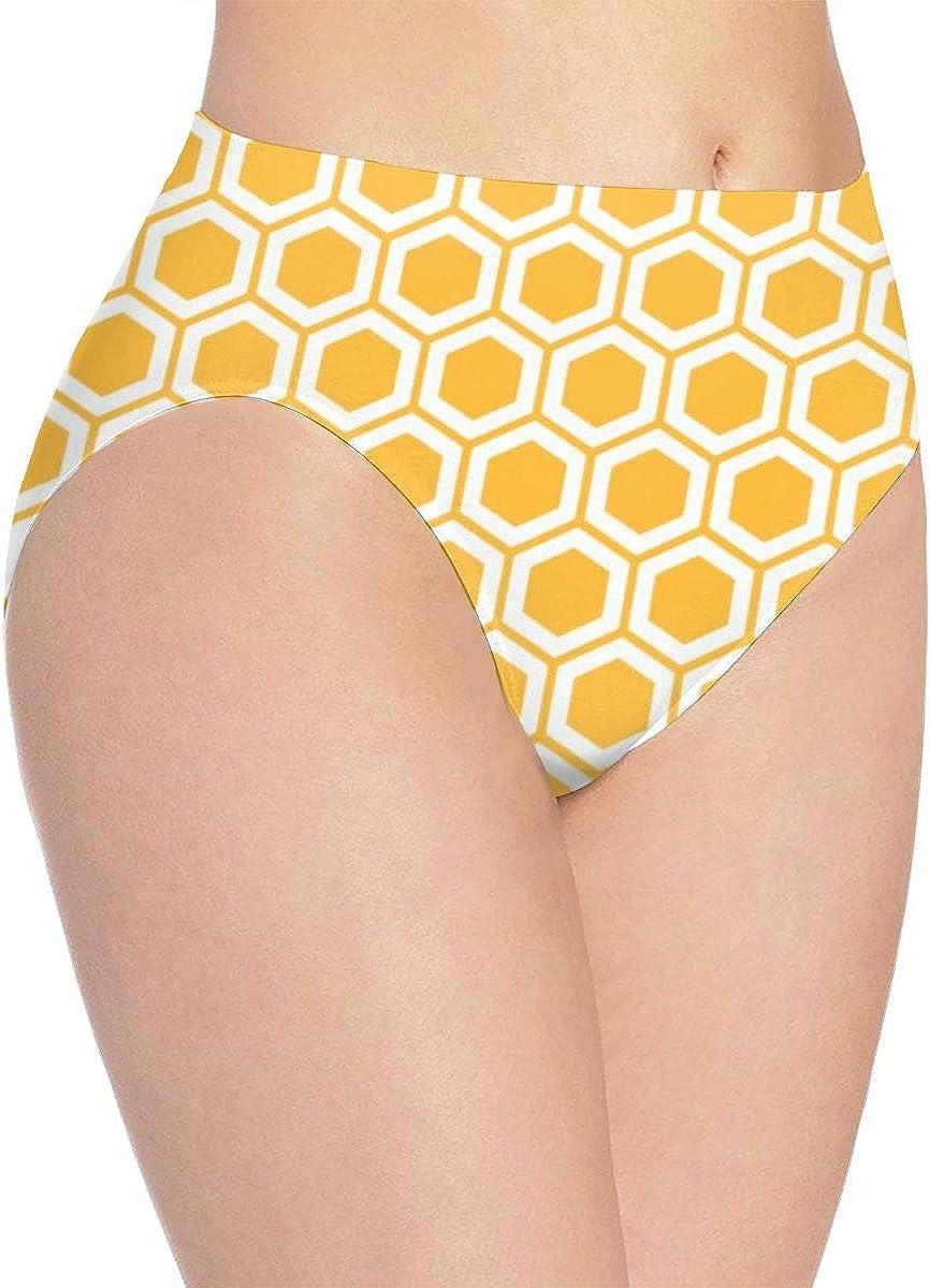 Womens Underwear Best Geometric Color Hot Bikini Brief Hipster Panties