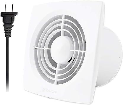 Amazon Com Hon Guan 6 Inch Home Ventilation Fan Bathroom Garage Exhaust Fan Ceiling And Wall Mount Exhaust Fan For Kitchen Bathroom Super Silent Strong Exhaust High Cfm 150d Home Improvement