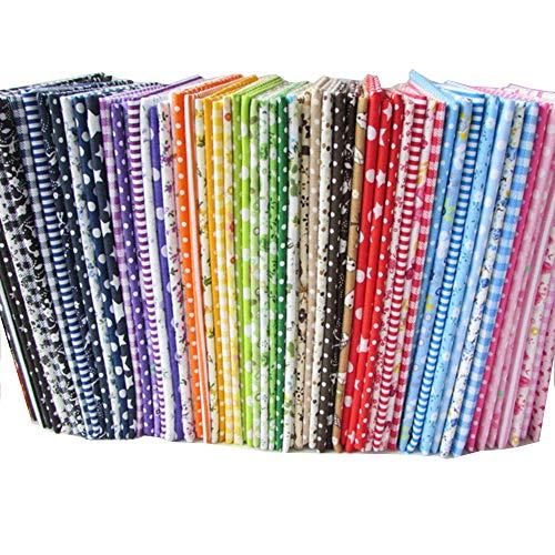 20 PIECE  100 /% cotton floral fabric bundles 25cm x 25cm great for patchwork
