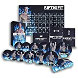 RIPT90 FIT: 90 Day Workout Program with 12+1 Exercise Videos + Training Calendar, Fitness Tracker & Training Guide and Nutrition Plan