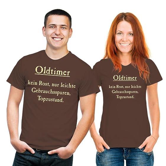 Witziges Sprüche T Shirt Oldtimer Im Ruhestand Schoko