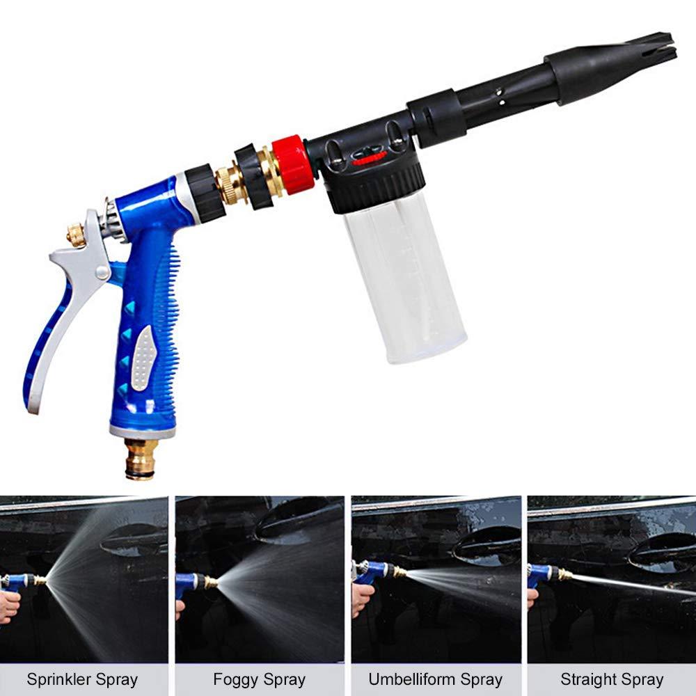 Foam Spray Car Wash >> Amazon Com Yqj Multi Function Car Wash Spray Gun High Pressure Car