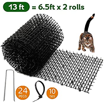 Amazon.com: Homarden Garden Cat Scat Mat - Antigato y plagas ...
