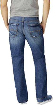 Aeropostale Mens Slim Boot Medium Wash Destroyed Jean 27w X 28l At Amazon Men S Clothing Store
