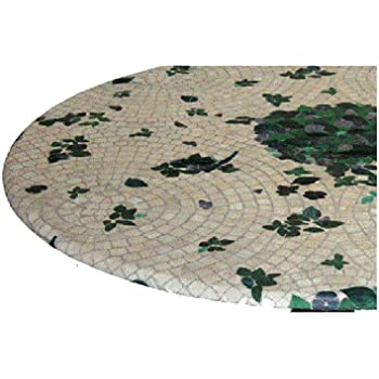 Amazon Com Fitted Round Elastic Edge Mosaic Vinyl