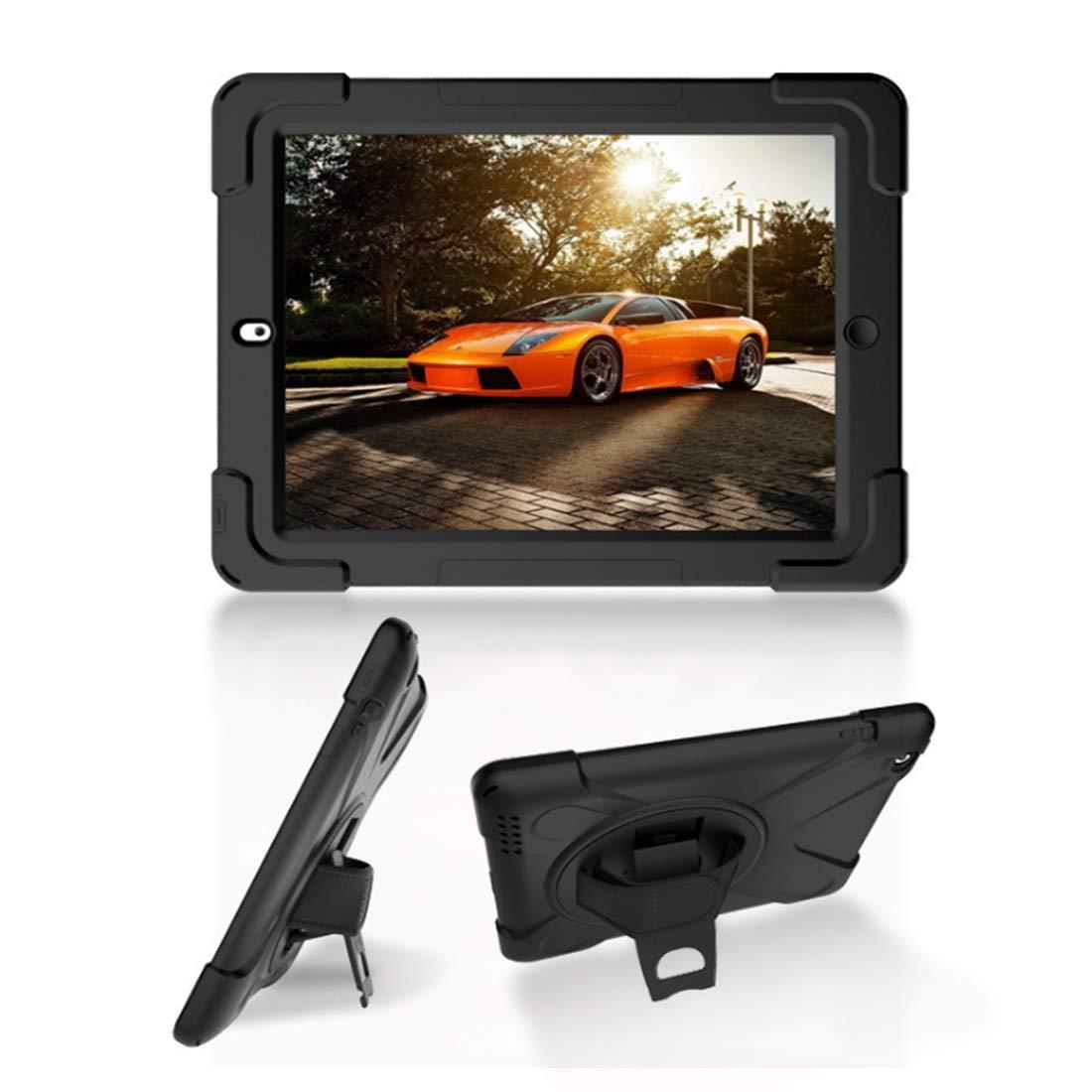 【お年玉セール特価】 KRPENRIO 2層デザイン 高耐久 9.7インチ フルボディ 頑丈 保護ケース 内蔵スクリーンプロテクター& 2層デザイン Apple iPad B07L8CX46D 9.7インチ 2017/2018に対応 (カラー:ブラック、サイズ:iPad mini123) B07L8CX46D, FT IMPORT:dd910532 --- a0267596.xsph.ru