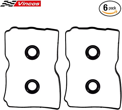 Vincos Valve Cover Gasket with Spark Plug Tube Seals Replacement For 9-2X Baja Forester Impreza Legacy Outback 2.5L H4