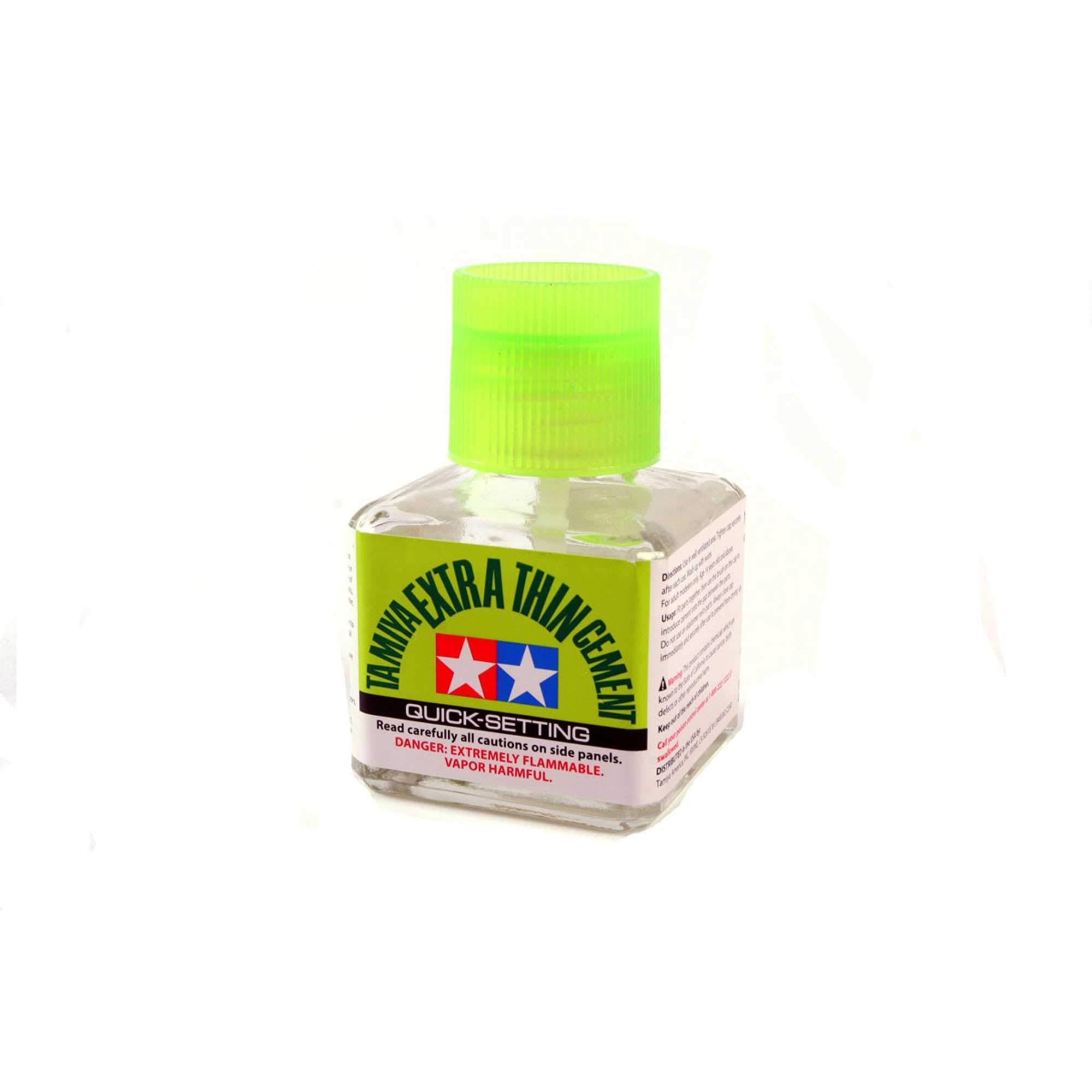 TAMIYA America, Inc Extra-Thin Cement 40ml Quick-Setting, TAM87182