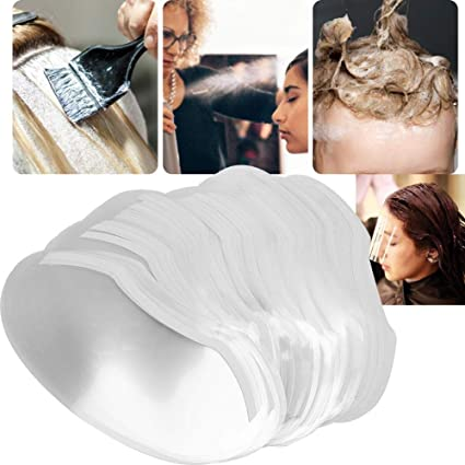 Hair Hairspray Shield, Hairspray Shield, 100pcs Hair Barber ...