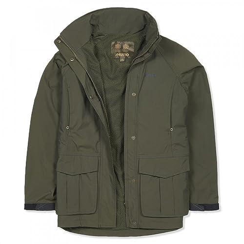 Musto Fenland BR2 Packaway Womens Jacket Dark Moss 16