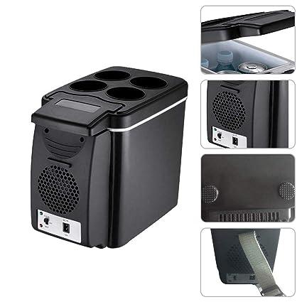 Amazon.es: Mini Refrigerador De Coche 6-10L 12V, 220V, Caja De ...