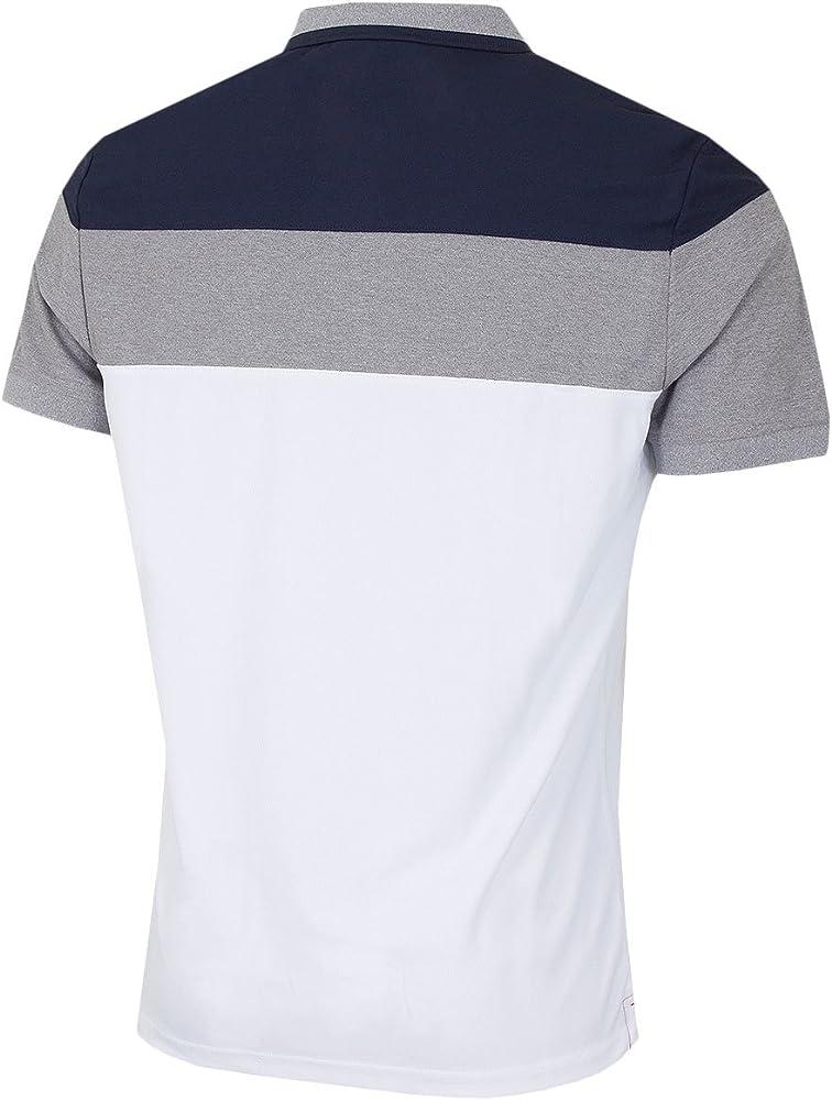 Calvin Klein - Polo - para hombre blanco blanco L: Amazon.es: Ropa ...