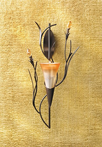 Gifts & Decor Dawn Lily Candle Holder Home Accent Decor Wall