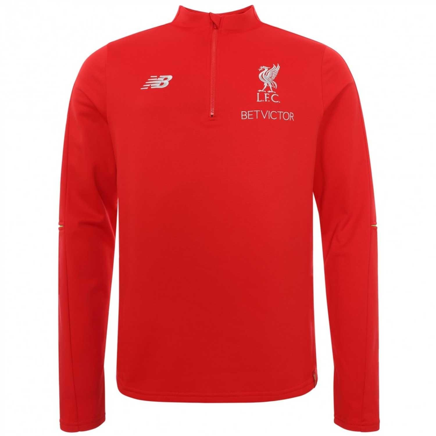 New Balance 2018-2019 Liverpool Woven Training Shorts (Red ...