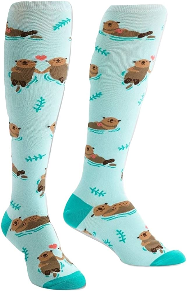 Sock It To Me Women's My Otter Half Knee High Socks