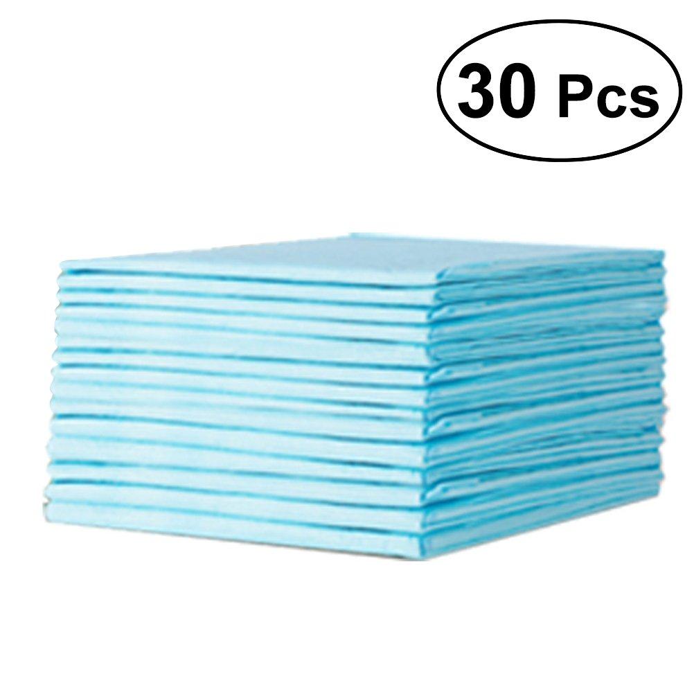 Ultnice 30pcs Bébé Underpads jetables Underpads étanche pour lit protection