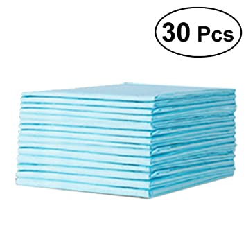 BELLA 90 X 60 CM DISPOSABLE BEDSHEETS BABY DISPOSABLE UNDERPADS CHANGING MATS 5 PCS