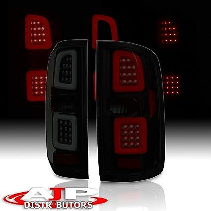 AJP Distributors Phantom Style LED Tube Tail Light Lamps For 2015 2016 2017  2018 15 16 17 18 Chevy Chevrolet Colorado GMC Canyon (Black Housing Smoke
