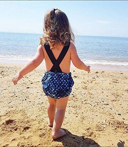 Glosun Toddler Infant Baby Girls Little Mermaid Swimwear One Pieces Bikini Swimsuit