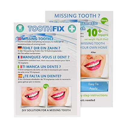 Missing Tooth Temporary Cosmetic Teeth Kit