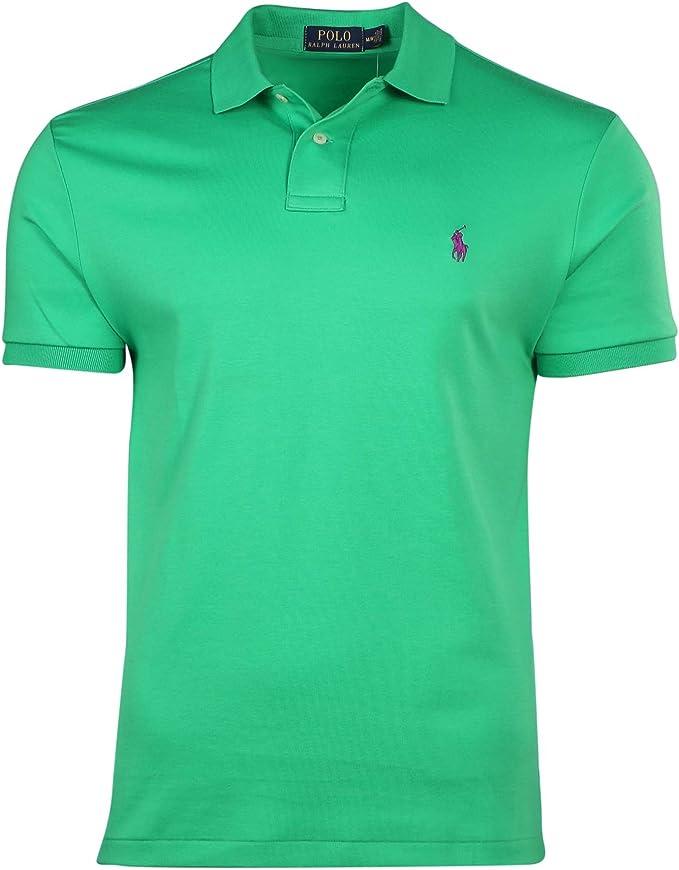 Ralph Lauren - Polo - camisa - para hombre Motor Green XL: Amazon.es: Ropa y accesorios