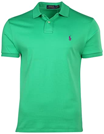 Ralph Lauren - Polo - Camisa - para Hombre Motor Green XL: Amazon ...