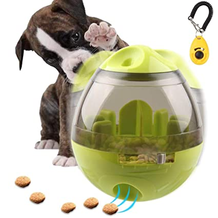 Pet Dogs Cats Fun Bowl Toy Feeder Interactive Dog Feeding Pets Tumbler Leakage Food Ball Puppy Pet Training Exercise Bowl Toys Home & Garden Dog Toys