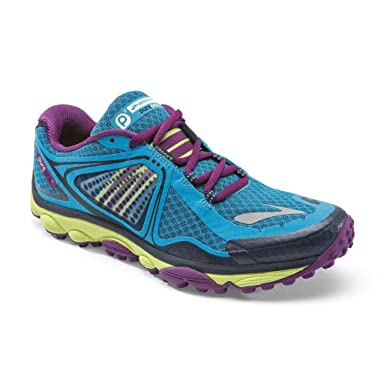f733d056ec325 Image Unavailable. Image not available for. Colour  Brooks Puregrit 3  Women s Running Shoes - Blue ...