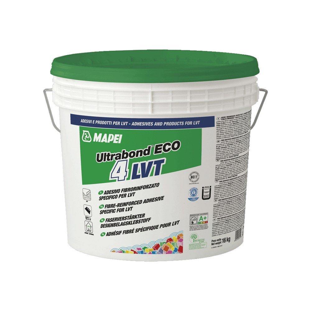 Adesivo fibrorinforzato per LVT 16Kg Ultrabond Eco 4 LVT Mapei