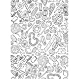 KaiserColour Coloring Poster 27''X19''-Mixed Candy