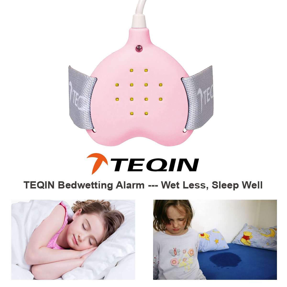 Amazon Com 3in1 Bed Child Rechargeable Bedwetting Alarm
