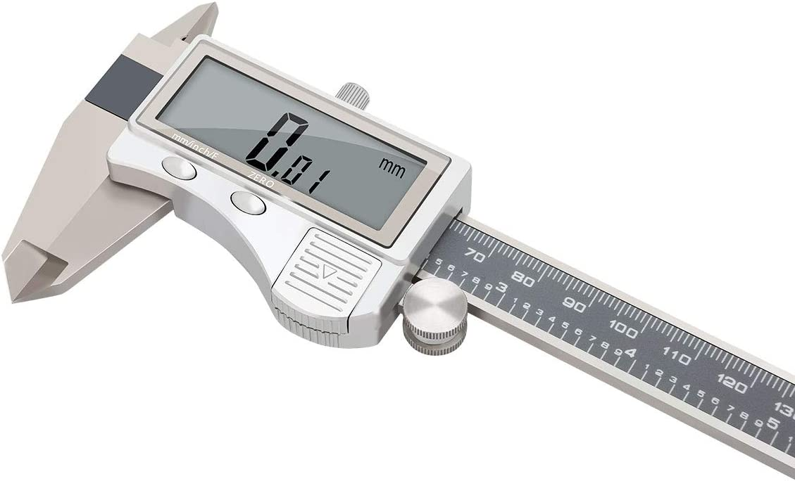 6Inch 150mm Sliding Vernier Caliper Gauge Measure Tool Ruler Great Item HU