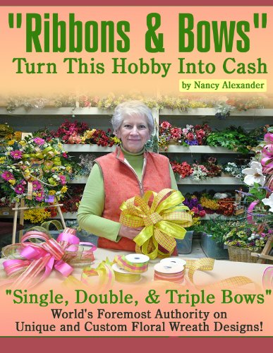 DIY, Ribbons & Bows, Learn how to Tie a Bow for Christmas & all Seasons, Wreath Bows by Nancy, DVD Video