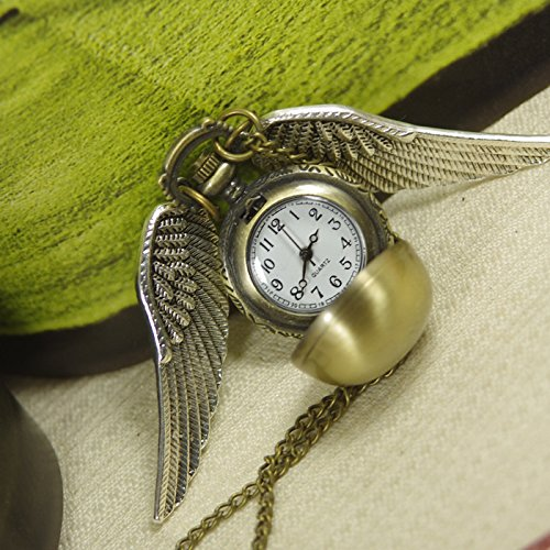 Steampunk Handmade Harry Potter Golden Snitch Watch