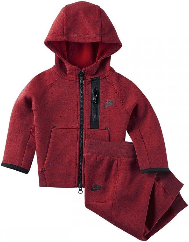 Nike Tech Fleece - Chándal, Color Rojo, para niños de 3-6 Meses ...