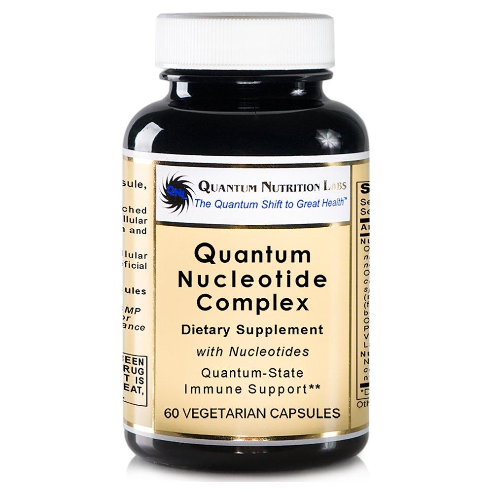 Quantum Nucleotide Complex, 60 Vegetarian Capsules with Nucleotides for Quantum-State Immune Support