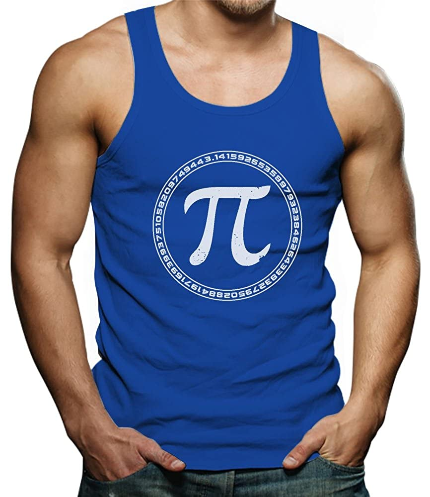 Pi Sign Circle Pi Day Singlet TeeStars
