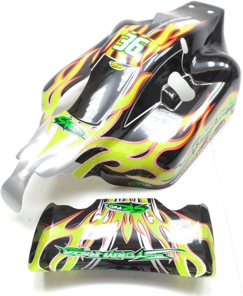 Carson 1:10 CV-10B Stormracer Buggy 500800062 Body Rear Spoiler CR8®: Amazon.es: Juguetes y juegos