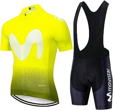 Hplights Ciclismo Conjunto Ropa Equipacion Traje Ciclismo Hombre para Verano, Maillot Ciclismo Hombre+Culotte Ciclismo Culote Bicicleta: Amazon.es: Deportes y aire libre