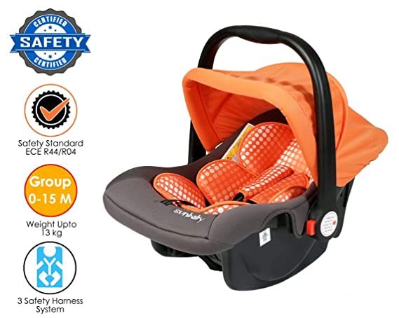 Sunbaby Car Seat Bubble (Orange)