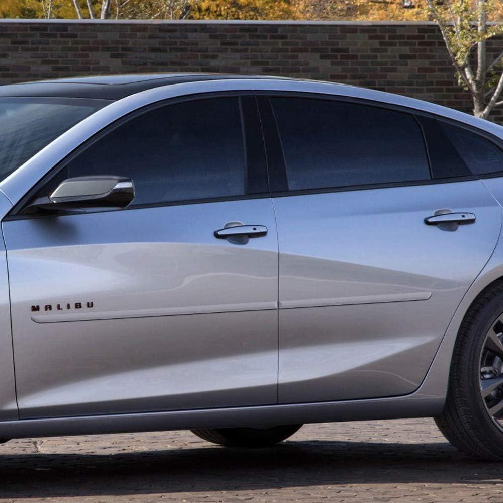 Dawn Enterprises FE-IMP14 Finished End Body Side Molding Compatible with Chevrolet Impala G1W Abalone White WA140X