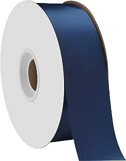 "product image for Offray Berwick 1.5"" Single Face Satin Ribbon, Light Navy Blue, 50 Yds"