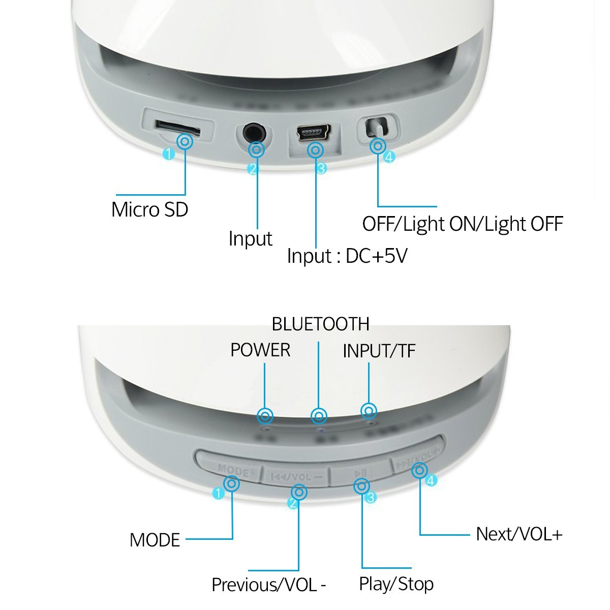 Amazon.com: Svance Dancing Water Speaker Portable Wireless Bluetooth ...