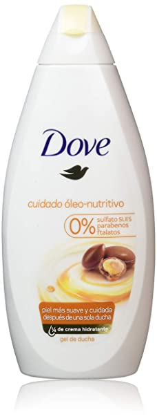 Dove - Gel de ducha, cuidado óleo-nutritivo, Pack de 2 x 500 ml ...
