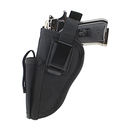 2019 New Style 3 Colors Edc Right Left Interchangeable Tactical Pistol Hand Gun Holster Molle Pistol Holster Magazine Slot Holder Hunting In Short Supply Hunting Bags & Holsters